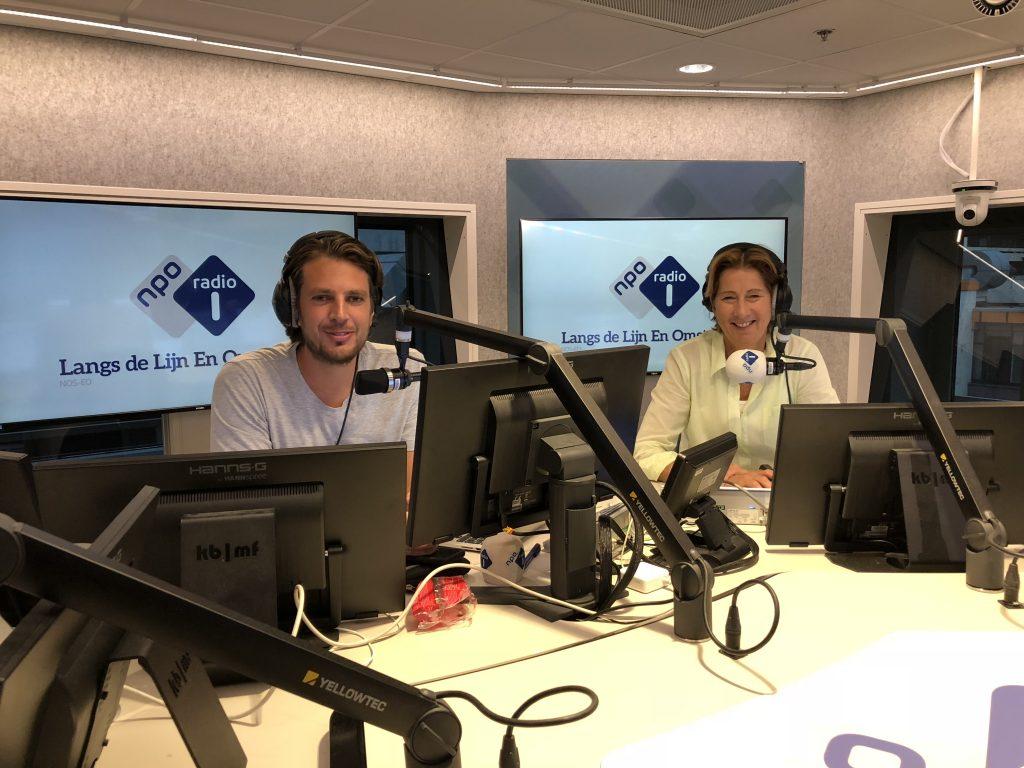 Annette van Trigt NPO radio 1 - NOS Langs de Lijn